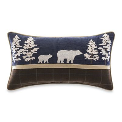 Croscill® Clairmont Bear Boudoir Throw Pillow