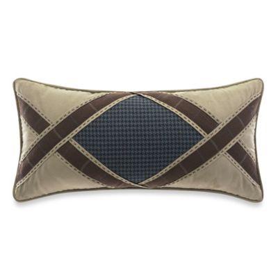 Croscill® Clairmont Aztec Reversible Boudoir Throw Pillow
