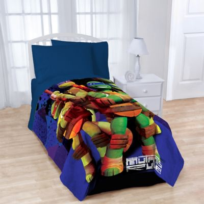 Teenage Mutant Ninja Turtles Fleece Character Throw