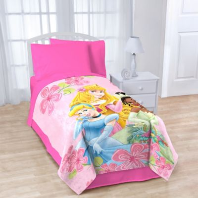 Disney® Princesses Fleece Character Throw