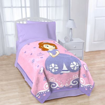 Disney® Sofia the First Fleece Character Throw