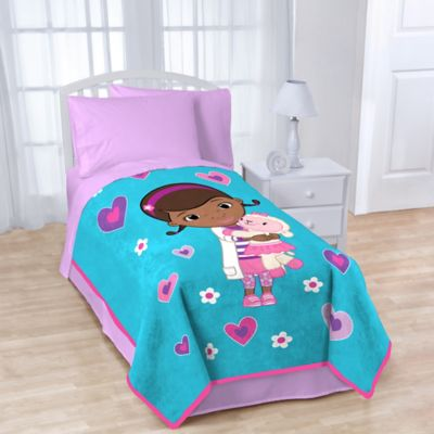 Disney® Doc McStuffins Fleece Character Throw