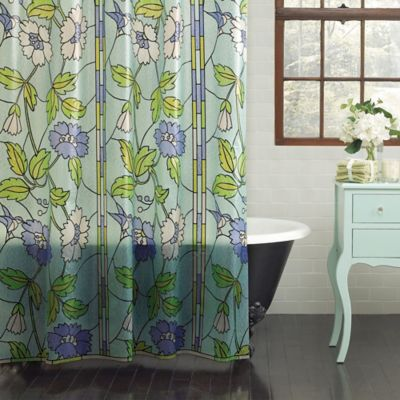 Stained Glass PEVA Shower Curtain