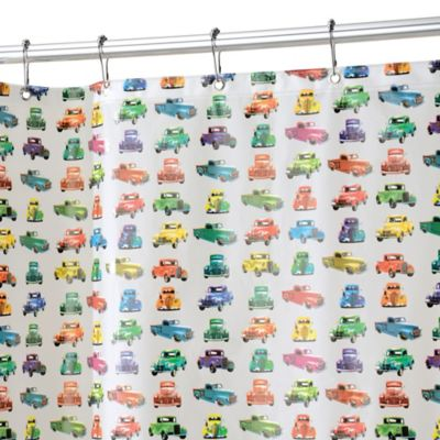 InterDesign® PEVA Truck Shower Curtain