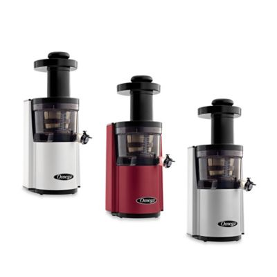 Omega® VSJ843R Low Speed Dual Edge Juicer in Silver