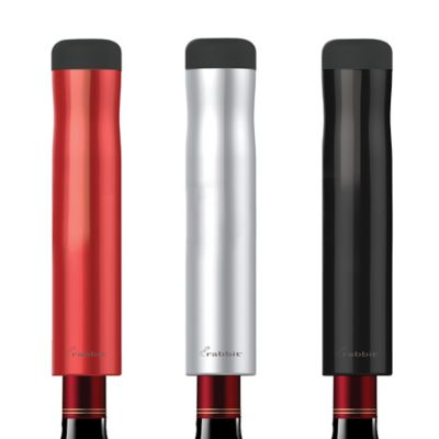 Metrokane Rabbit Automatic Electric Corkscrew in Red