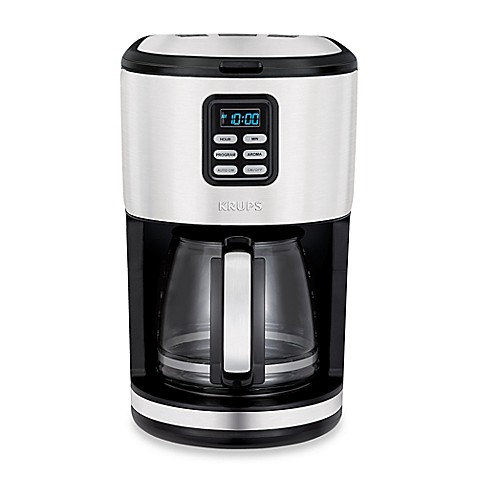 Krups 174 12 Cup Stainless Steel Filter Coffee Maker Bed