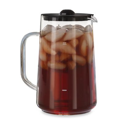 Mr Coffee Iced Tea Maker Replacement Glass Pitcher : Capresso 80 oz. Iced Tea Maker Replacement Pitcher - www.BedBathandBeyond.com