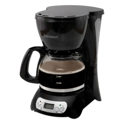 Black 4 Cup Coffee Makers