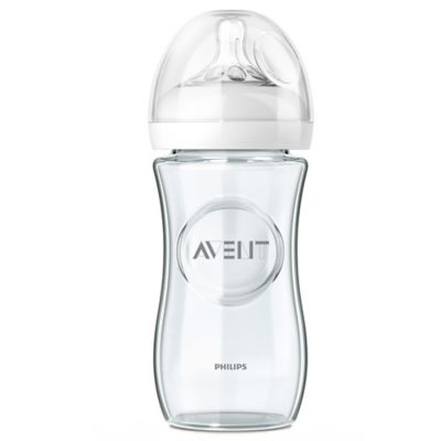 AVENT Natural 3-Pack 8 fl. oz. Glass Bottles