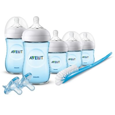 Bottle Feeding > AVENT Natural Infant Starter Set in Blue