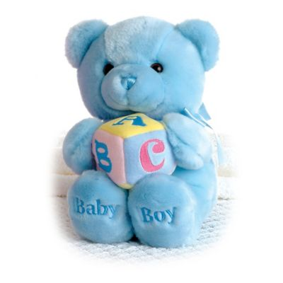 Aurora® Musical ABC Teddy Bear in Blue