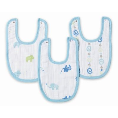 aden® by aden + anais® 3-Pack Jungle Jive Little Bib