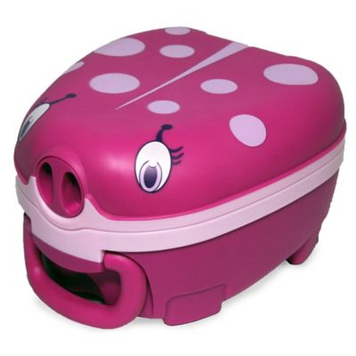 Regal Lager My Carry Potty Seat in Pink Ladybug