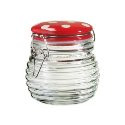 Global Amici Small Beehive Canister in Red
