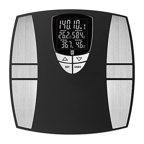 Weight Watchers® Digital Body Analysis Bathroom Scale by ...