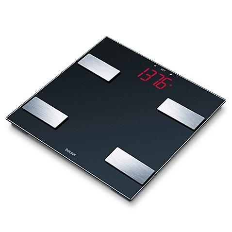 Beurer Glass Digital Body Analysis Bathroom Scale Www