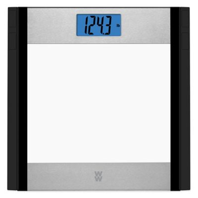 Weight Watchers® Glass and Stainless Steel Bathroom Scale by Conair®