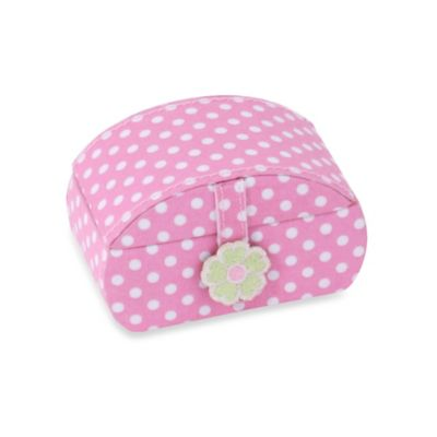 Wolf Designs Poppy Petite Mini Jewelry Case in Pink