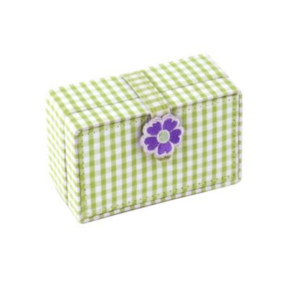 Wolf Designs Poppy Petite Mini Jewelry Case in Green