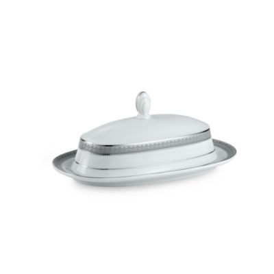 Mikasa® Platinum Crown Covered Butter Dish