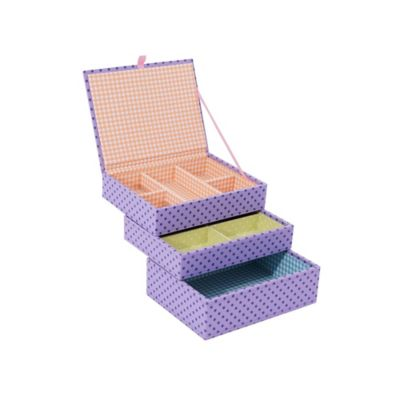 Wolf Designs 3-Piece Mini Stackables Set in Purple