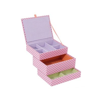 Wolf Designs 3-Piece Mini Stackables Set in Pink