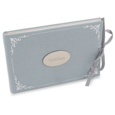 Blue Baby Photo Albums