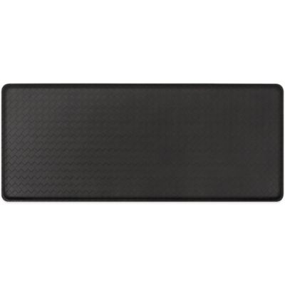 GelPro® Basketweave 20-Inch x 48-Inch Cushion Mat in Black