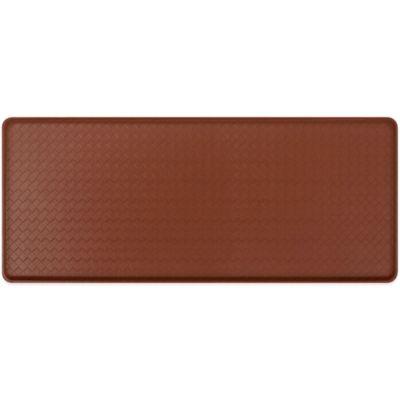 GelPro® Basketweave 20-Inch x 48-Inch Cushion Mat in Chestnut