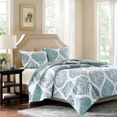Harbor House™ Ogee Paisley King Coverlet