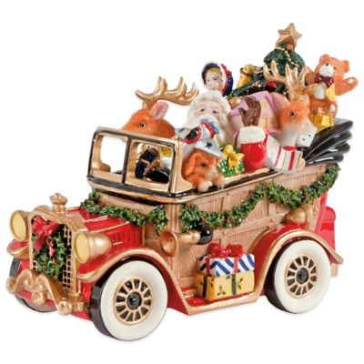 Fitz and Floyd® Santa Classic Car Musical Figurine