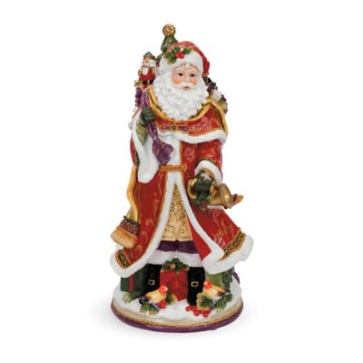 Fitz and Floyd® Regal Holiday Musical Santa