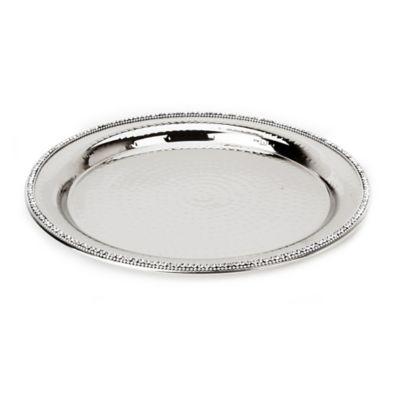 Silver Round Platter