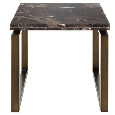 Safavieh Naomi End Table in Brass