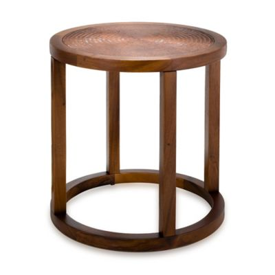 Safavieh Lowell End Table in Tobacco