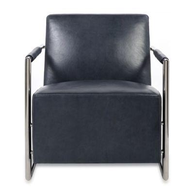 Safavieh Ivan Club Chair in Blue
