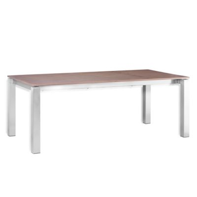 Zuo® Modern Copenhagen Dining Table in Walnut