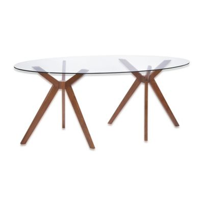 Zuo Modern Buena Vista Dining Table in Walnut