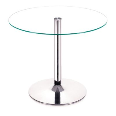 Zuo® Modern Galaxy Dining Table in Chrome