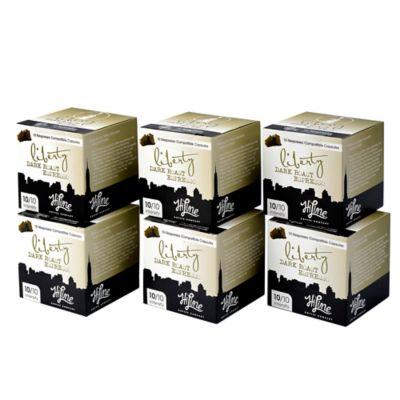 HiLine Coffee 60-Count Liberty Dark Roast Espresso Capsules