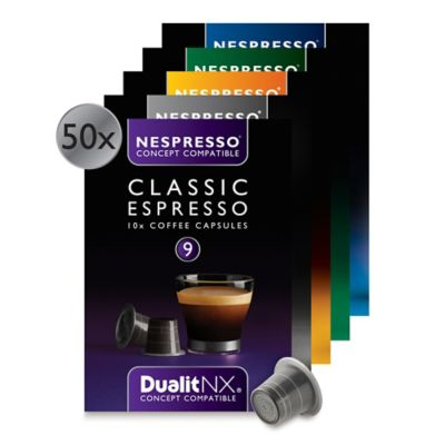 Dualit® NX® 50-Count Variety Espresso Capsules