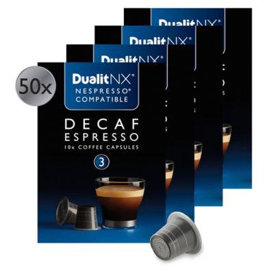 Dualit® NX® 50-Count Decaf Espresso Capsules