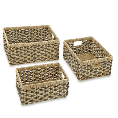 Organic Decorative Storage Baskets