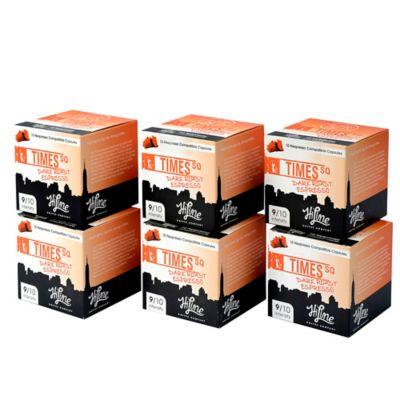HiLine Coffee 60-Count Times Square Dark Roast Espresso Capsules