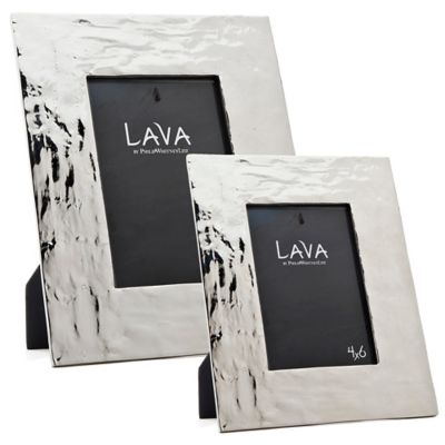 Philip Whitney Alternative Metals 4-Inch x 6-Inch Lava Aluminum Frame