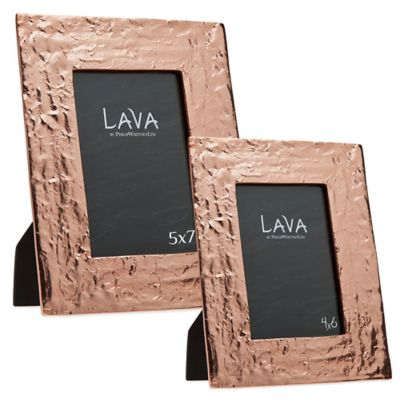 Philip Whitney Alternative Metals 4-Inch x 6-Inch Lava Copper Frame