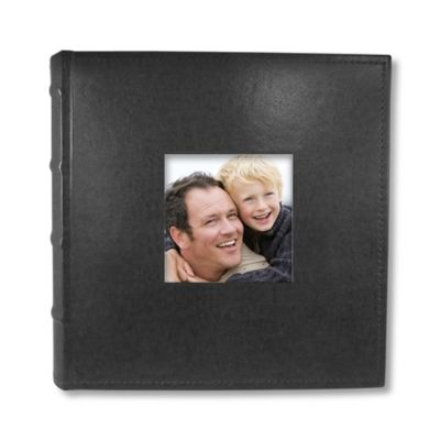 Black Leather Photo Frames