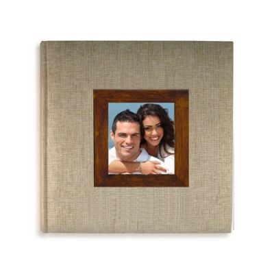 Voyages Photo Album in Tan/Mocha