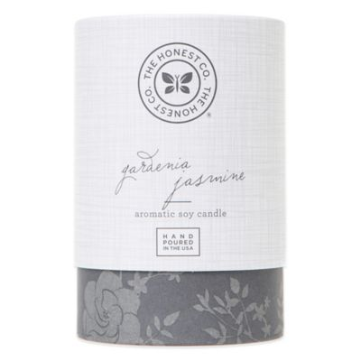 Honest Gardenia Jasmine Aromatic Soy Candle